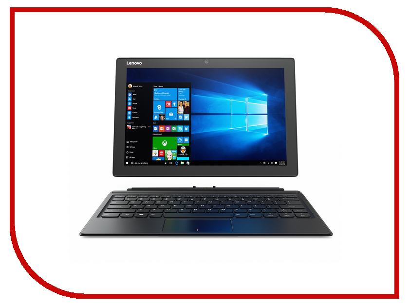 Планшетные компьютеры 510-12IKB  Планшет Lenovo MiiX 510-12IKB 80XE00C8RK (Intel Core i3-7100 3.9 GHz/8192Mb/256Gb/LTE/Wi-Fi/Cam/12/1920x1200/Windows 10 64-bit)