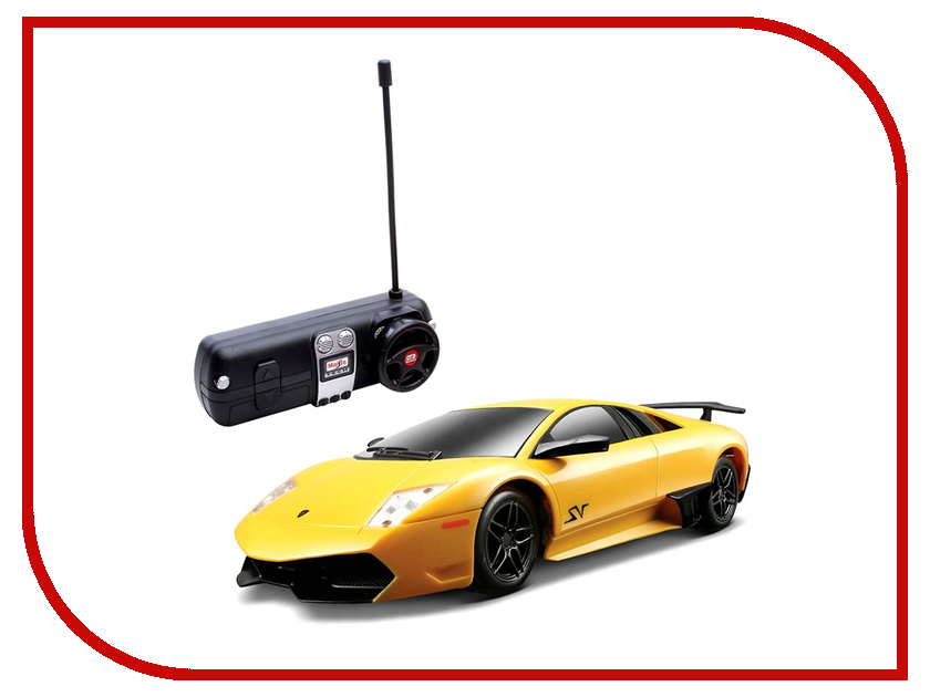 Игрушка Maisto Lamborghini Murcielago LP670-4 SV 81065 модель автомобиля lamborghini murcielago lp670 4 масштаб 1 43 39500