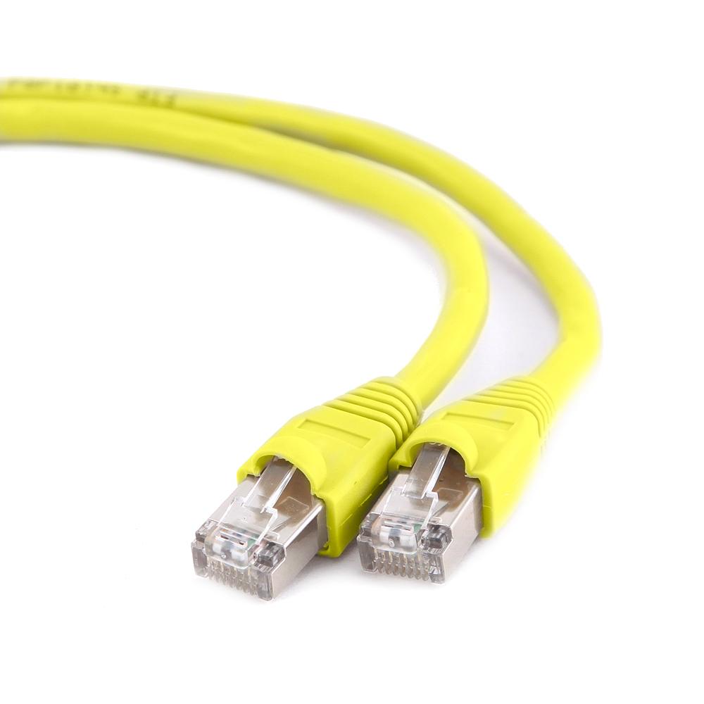 Сетевой кабель Gembird Cablexpert FTP cat.6 5m Yellow PP6-5M/Y-O