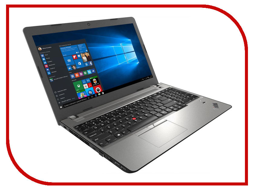 Ноутбук Lenovo ThinkPad EDGE E570 Black-Silver 20H500B5RT (Intel Core i5-7200 2.5 GHz/8192Mb/1000GB/DVD-RW/Intel HD Graphics/Wi-Fi/Bluetooth/Cam/15.6/1920x1080/Windows 10 Pro) ноутбук lenovo thinkpad t560 20fh001frt 15 6 intel core i5 2300мгц 4гб ram dvd нет 520гб черный wi fi windows 10 pro bluetooth