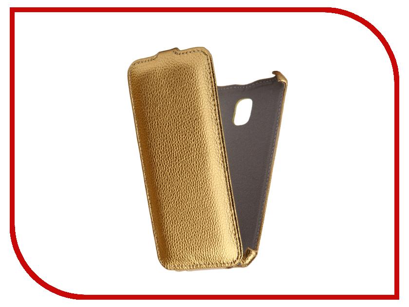 Аксессуар Чехол Samsung Galaxy J3 2017 SM-J330F/DS Zibelino Classico Gold ZCL-SAM-J3-2017-GLD
