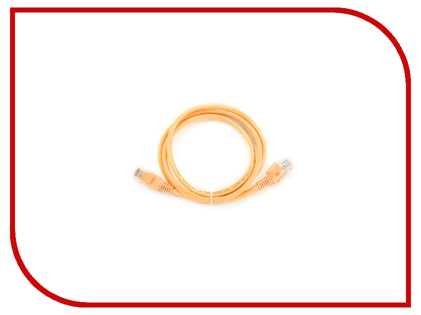 Аксессуар Gembird FTP Cablexpert cat.5e 2m Orange PP22-2M/O