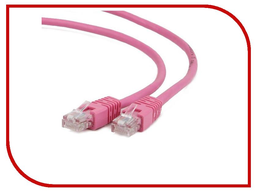 Аксессуар Gembird UTP Cablexpert cat.5e 5m Pink PP12-5M/RO