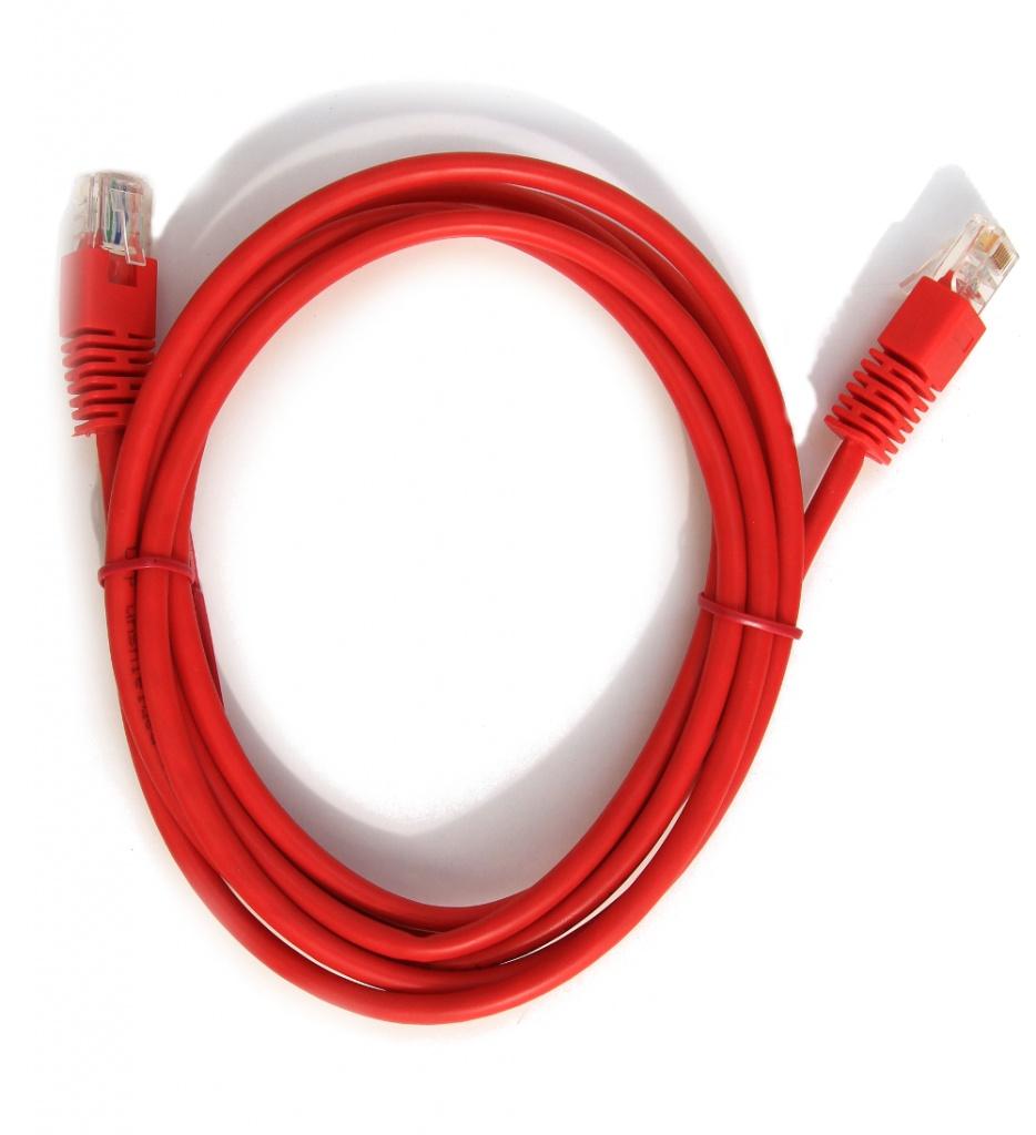 Сетевой кабель Gembird Cablexpert UTP cat.5e 3m Red PP12-3M/R