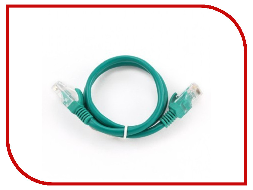 Аксессуар Gembird UTP Cablexpert cat.5e 1.5m Green PP12-1.5M/G
