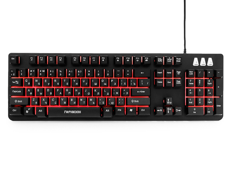Клавиатура Гарнизон GK-300G Black
