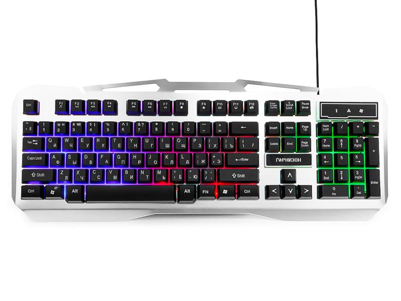 Клавиатура Гарнизон GK-500G Black-Grey