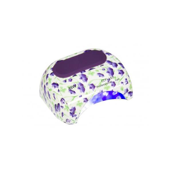 Лампа Dona Jerdona 100115 LED +CCFL 48W Lilac Flowers
