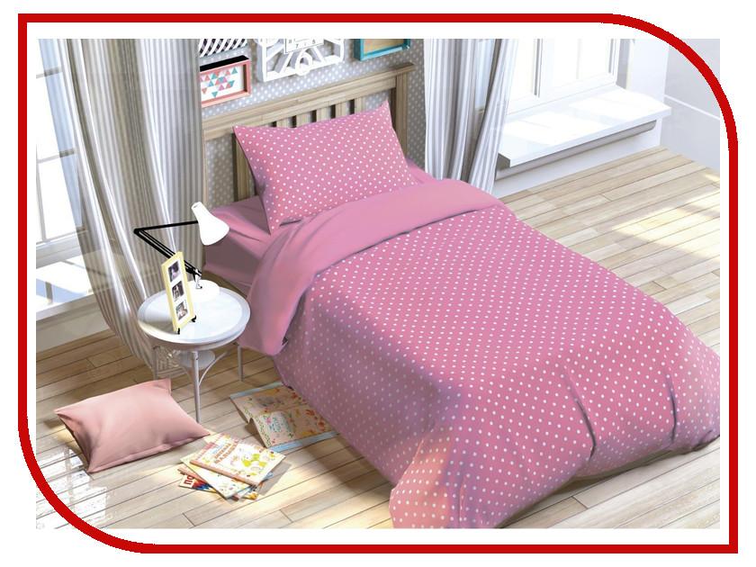 Постельное белье Этель Этелька. Розовые сны Комплект 1.5 спальный Поплин 2054096