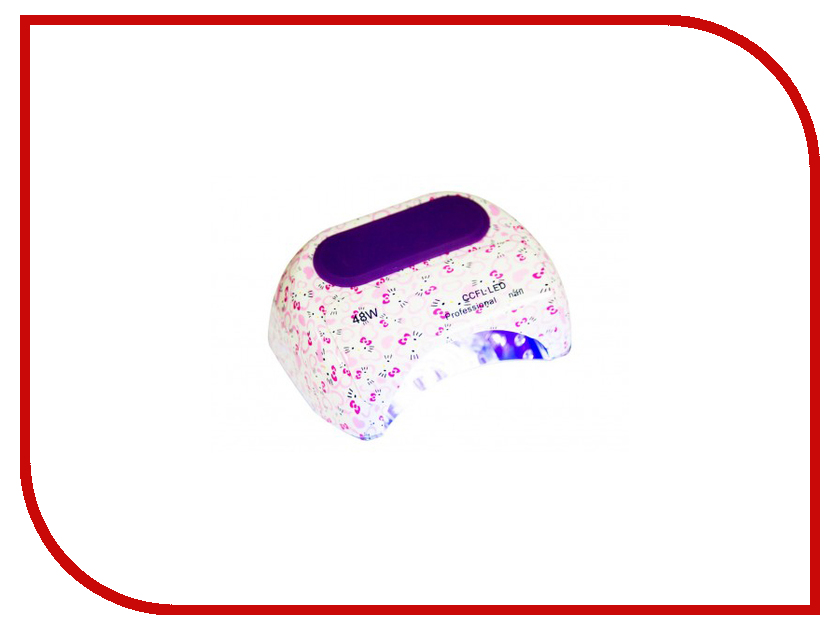 Лампа Dona Jerdona 100115 LED +CCFL 48W Hello Kitty runail лампа ccfl led 18 вт page 9