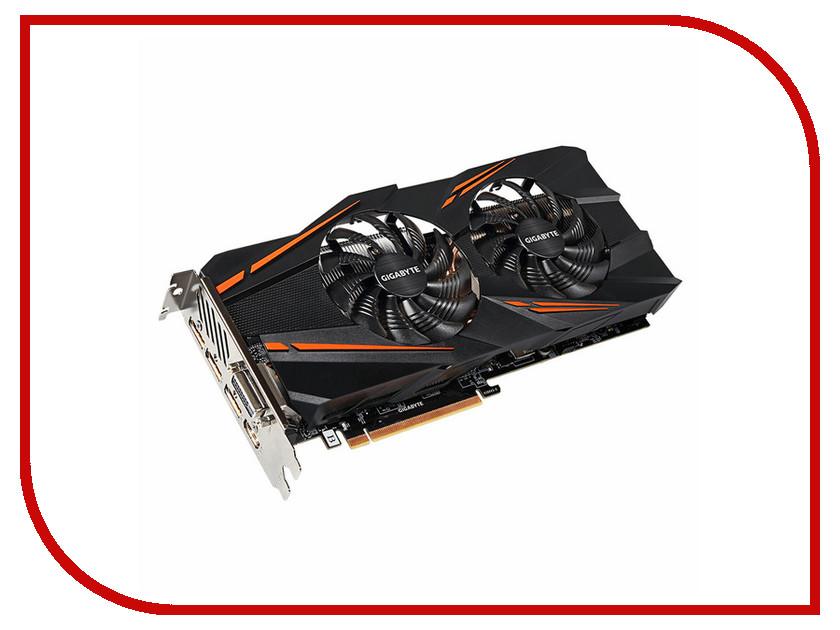 Видеокарта GigaByte GeForce GTX 1070 1582Mhz PCI-E 3.0 8192Mb 8008Mhz 256 bit DVI HDMI HDCP GV-N1070WF2OC-8GD-mi OEm