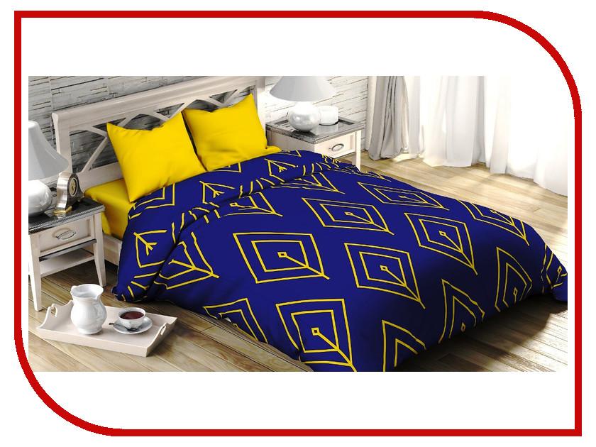 Постельное белье Этель Жёлтый лепесток Комплект 2 спальный Поплин 2565807