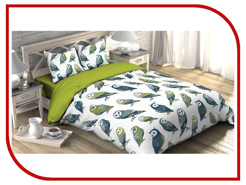 Постельное белье Этель Совушки Комплект 2 спальный Поплин 2588667