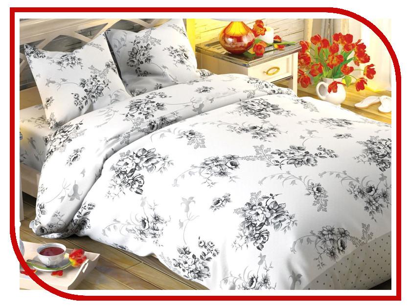 Постельное белье Этель Флорена Экрю Комплект 2 спальный Хлопок-Поплин 1504630