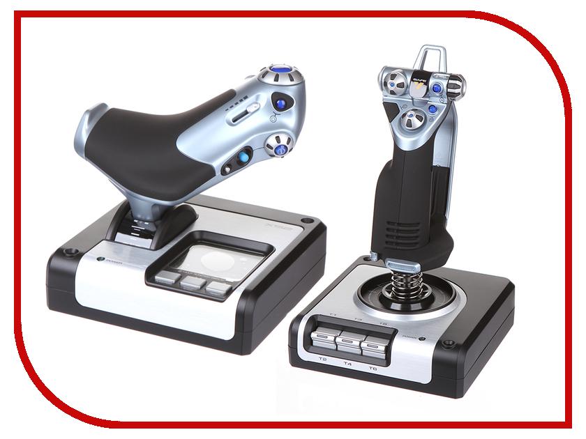 Джойстик Logitech G X52 H.O.T.A.S. 945-000006 игровой джойстик logitech extreme 3d pro 942 000031