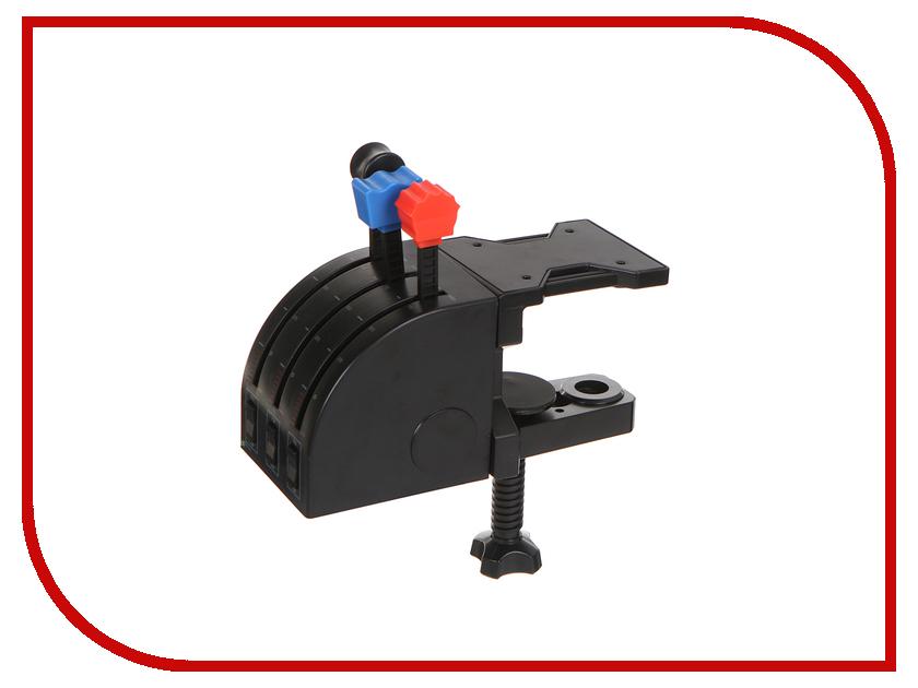 панель для джойстика saitek pro flight tpm system scb432060002 04 1 Блок рычагов Logitech G Saitek Pro Flight Throttle Quadrant Black USB 945-000015