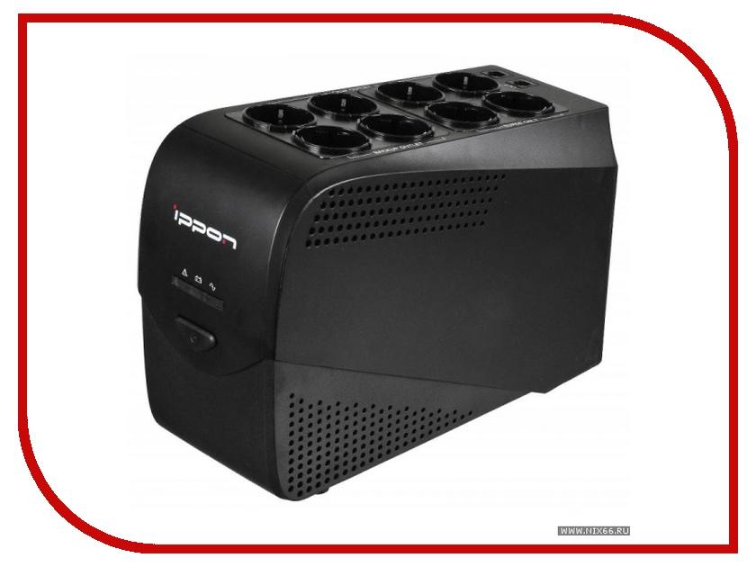 Источник бесперебойного питания Ippon Back Comfo Pro 1000 Black 403089 источник бесперебойного питания ippon back comfo pro new 600