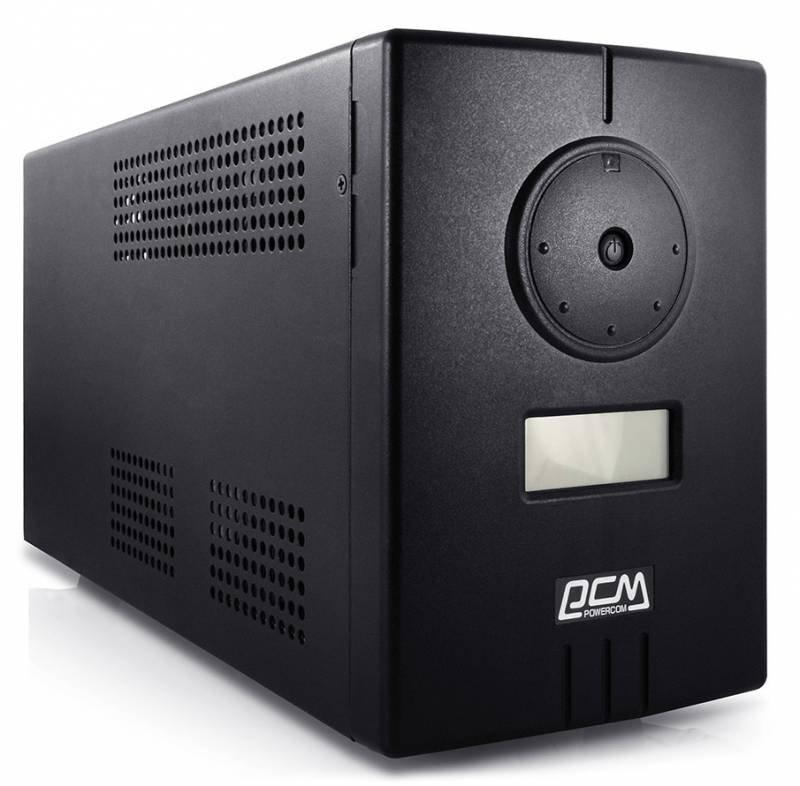 Источник бесперебойного питания Powercom Infinity INF-500 Black источник бесперебойного питания powercom infinity inf 1100 770вт 1100ва черный