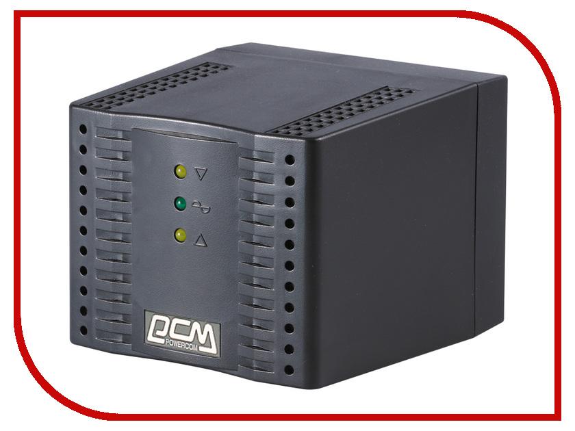 Стабилизатор Powercom TCA-1200 Black powercom tca 2000