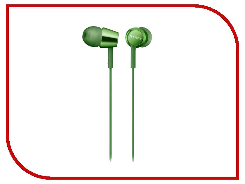 Sony MDR-EX155AP Green sony mdr ex155ap blue
