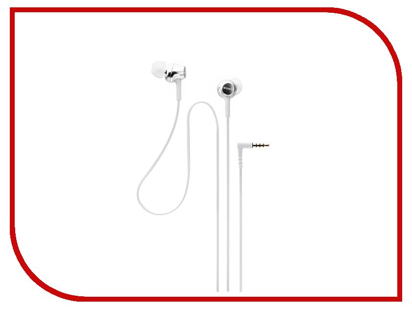 Наушники Sony MDR-EX155W наушники sony для бассейна