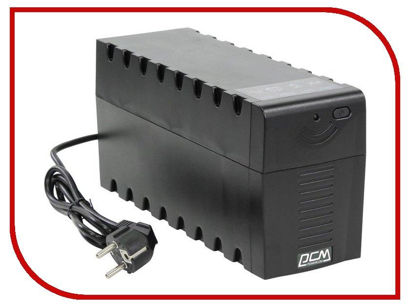Источник бесперебойного питания Powercom Raptor RPT-1000A Euro Black ибп powercom rpt 600a euro raptor
