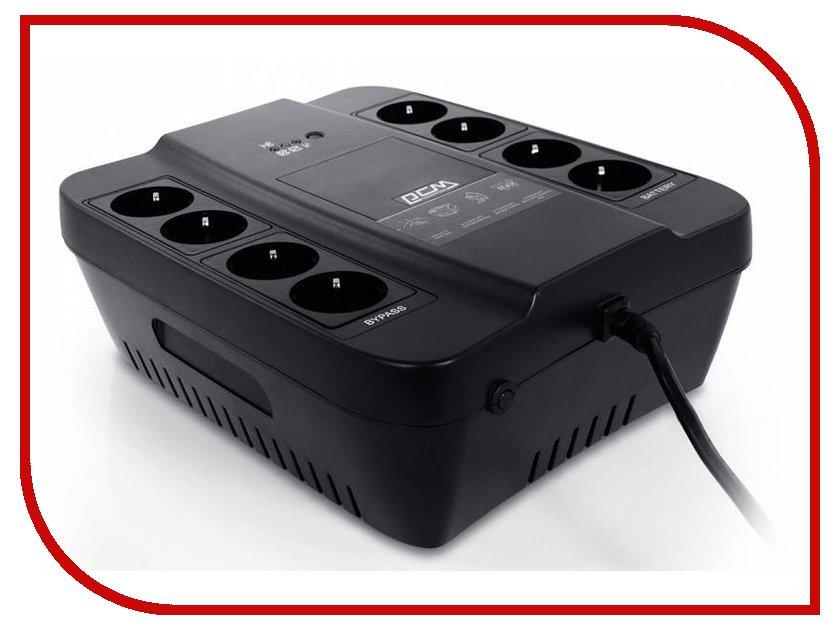 Источник бесперебойного питания Powercom Spider SPD-650N Black цена
