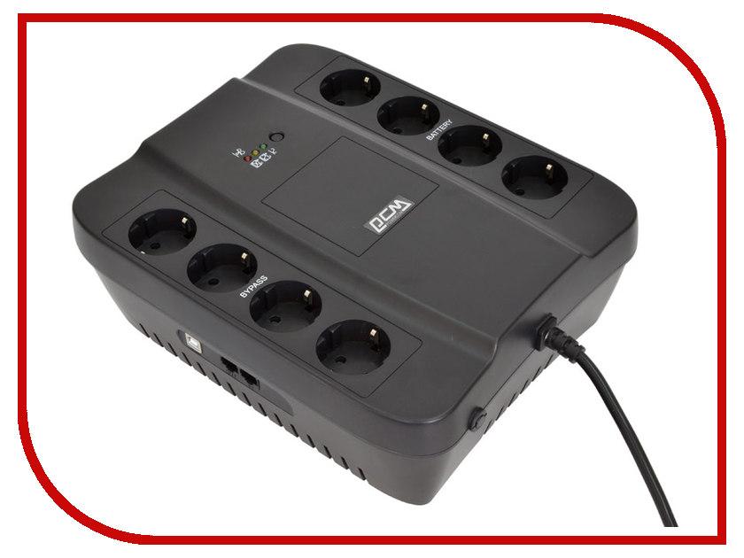 Источник бесперебойного питания Powercom SPD-1000U Black