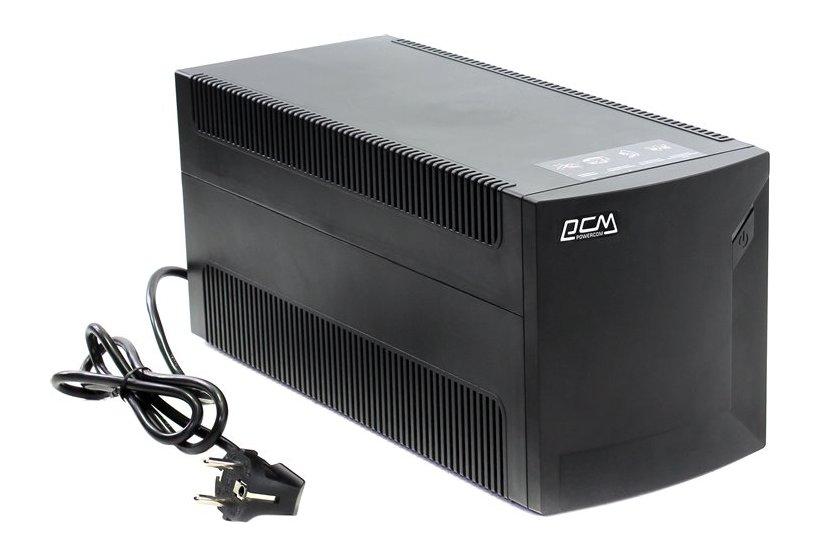 Источник бесперебойного питания Powercom Raptor RPT-1500AP Black источник бесперебойного питания powercom raptor rpt 1025ap 1025вa