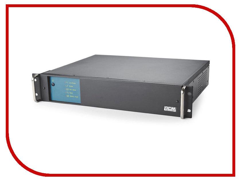 Источник бесперебойного питания Powercom King Pro RM KIN-600AP Black