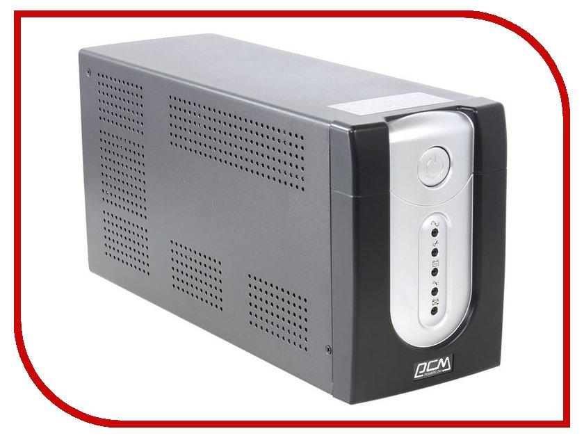 Источник бесперебойного питания Powercom Imperial IMP-1200AP Black источник бесперебойного питания powercom imperial imp 525ap