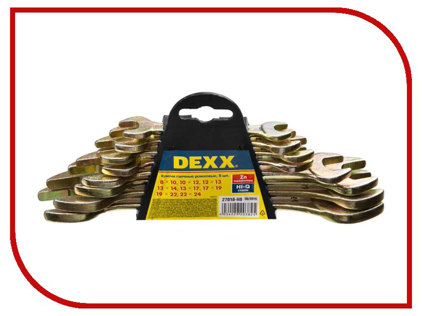 Ключ Dexx 27018-H8 насадка dexx 39071