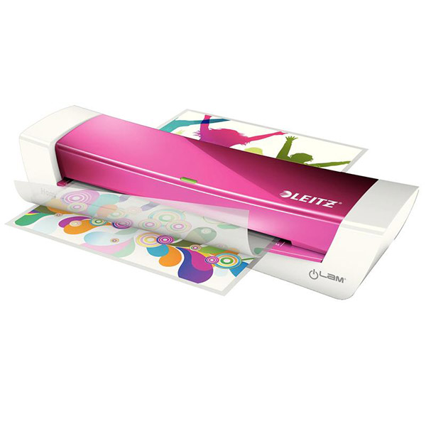 Ламинатор Leitz iLam Home Office A4 Pink 610838