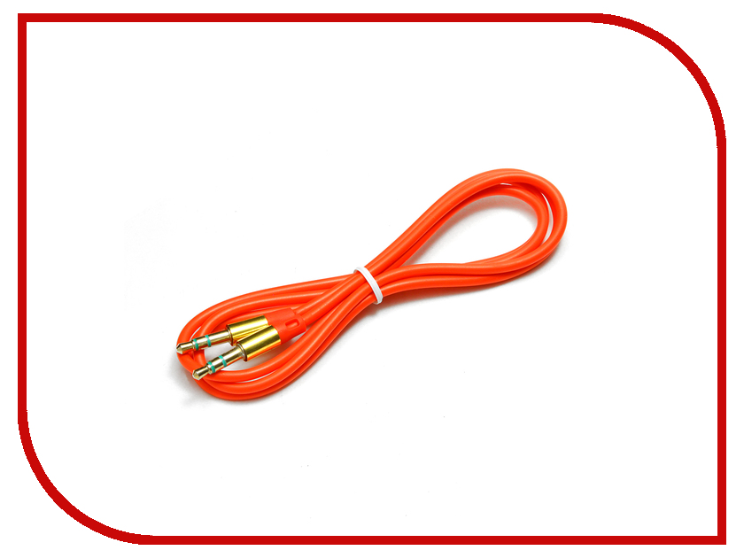Аксессуар Gembird 3.5 Jack Red CCA-3.5MM-1R