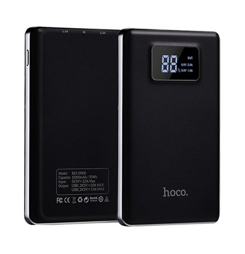 Аккумулятор Hoco B23 Flowed 10000mAh Black