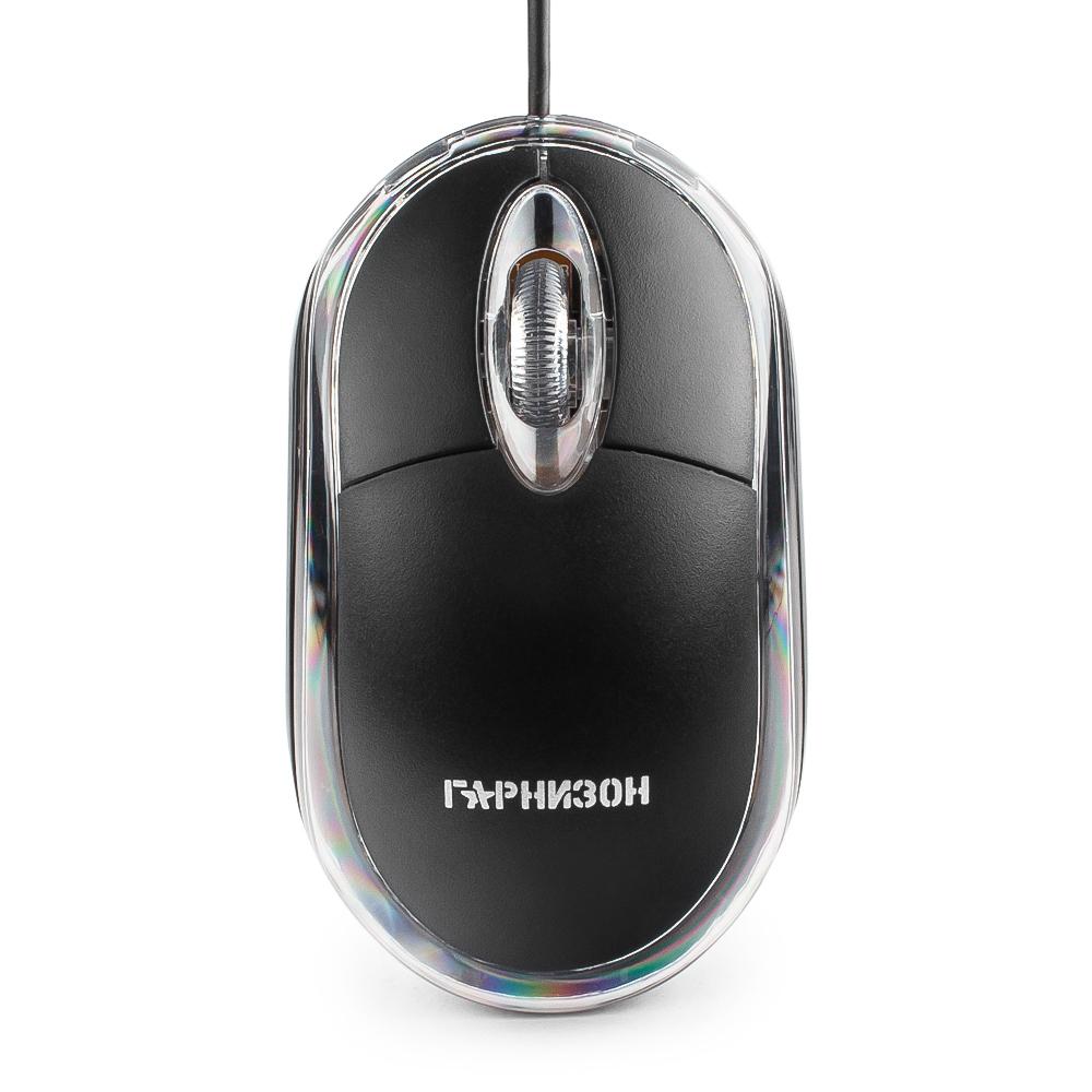 Мышь Гарнизон GM-100 Black