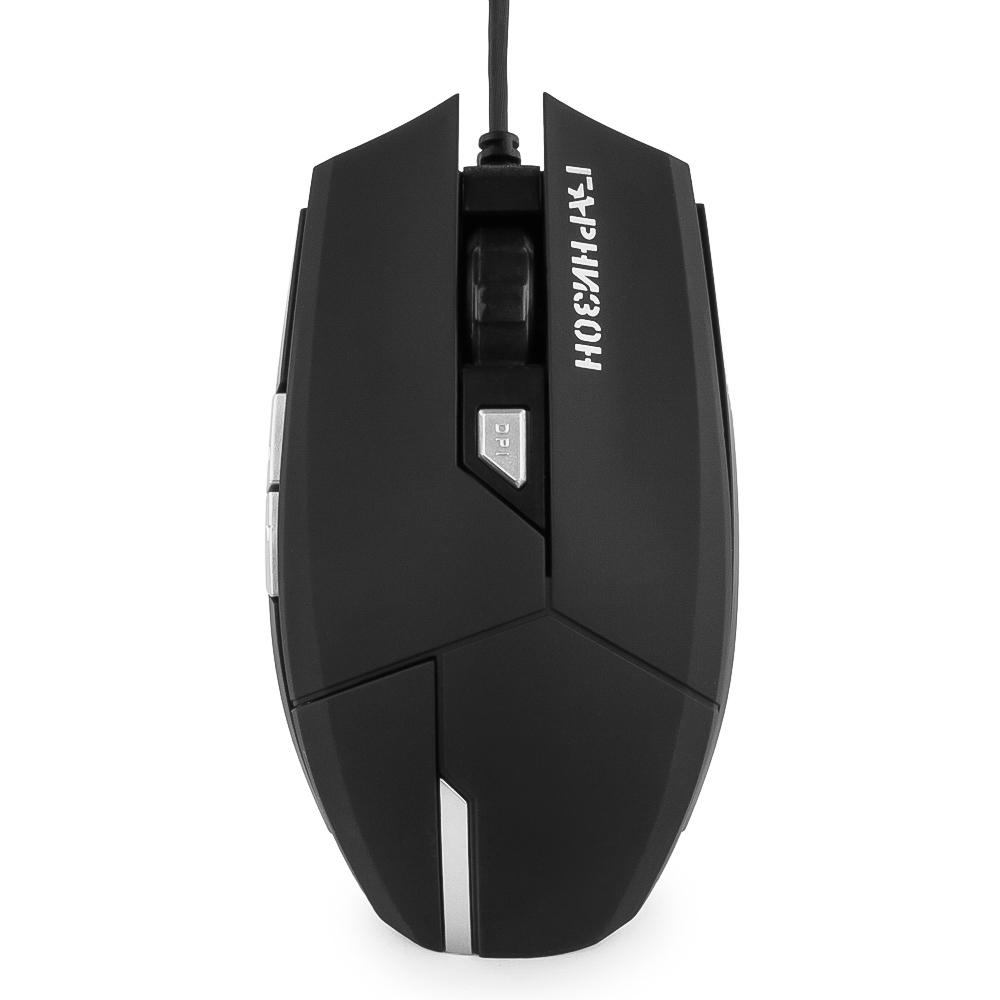 Мышь Гарнизон GM-600G Black