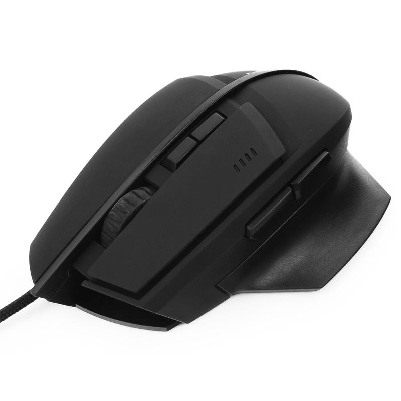 Мышь Гарнизон GM-740G Black