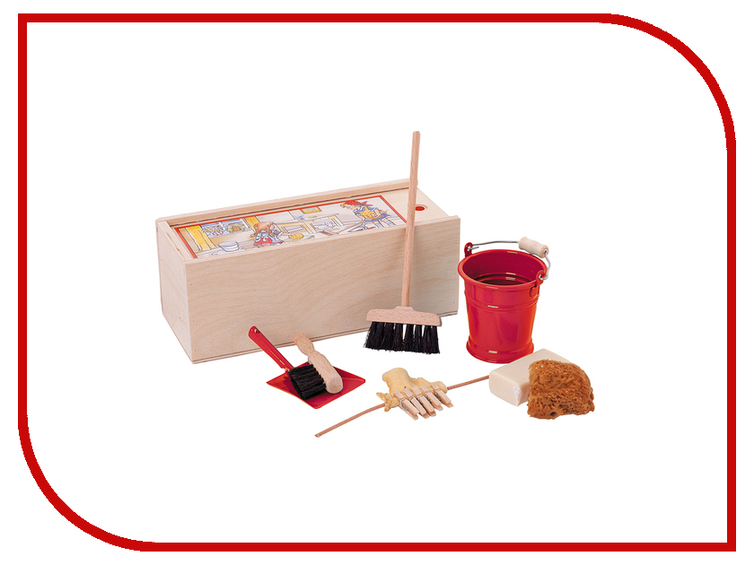 Игрушка Redecker Набор игрушечных щёток для детей 058000