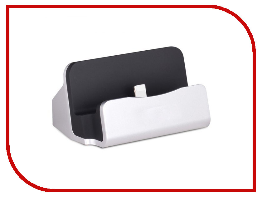 Аксессуар Док-станция HOCO CPH18 USB - Lightning Silver 73347