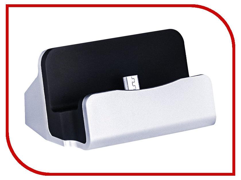 Аксессуар Док-станция HOCO CPH18 USB - Micro USB Silver 73352 док станция sony dk48