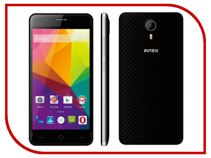 Сотовый телефон Intex Cloud Glory N LTE Black-Silver лодка intex challenger k1 68305