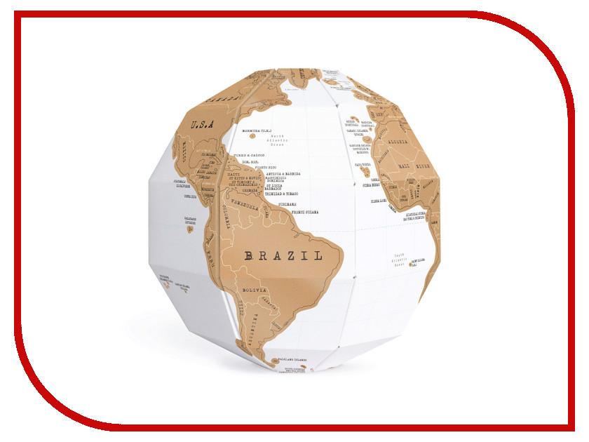 Глобус со стирающимся слоем BadLab True World 0904