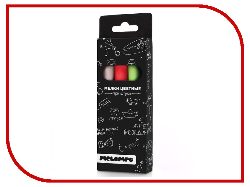 Набор цветных мелков Melompo MEL-8