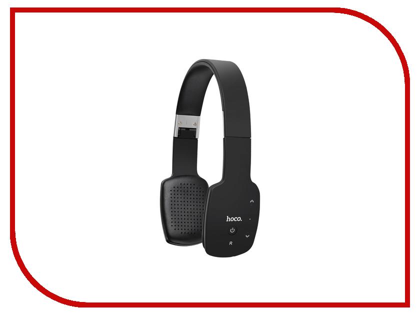 Гарнитура HOCO W4 Black 73295 аудио наушники hoco наушники с микрофоном hoco m13 black