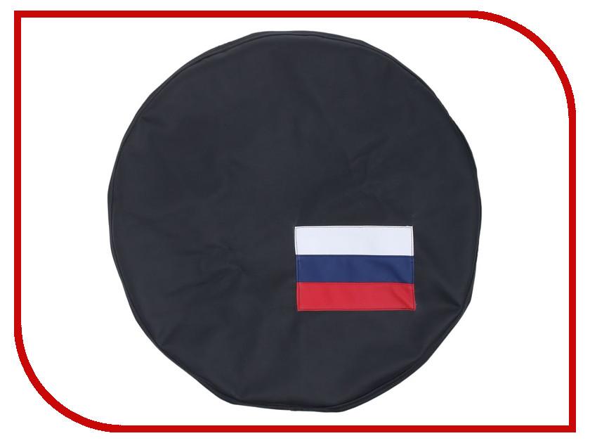 Аксессуар Torso Флаг России R15 Black 1337821 комплект чехлов на весь салон torso 854752 black grey