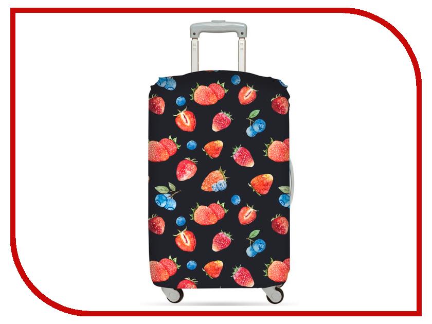 Чехол LOQI Juicy Strawberries средний
