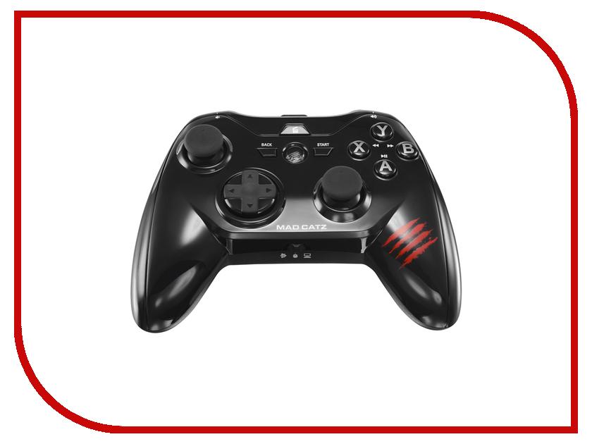 Гаджет Геймпад Mad Catz Micro C.T.R.L.R Bluetooth Gamepad Gloss Black MCB3226200C2/04/1 гаджет геймпад mad catz c t r l i mobile gamepad gloss orange mcb312630a10 04 1
