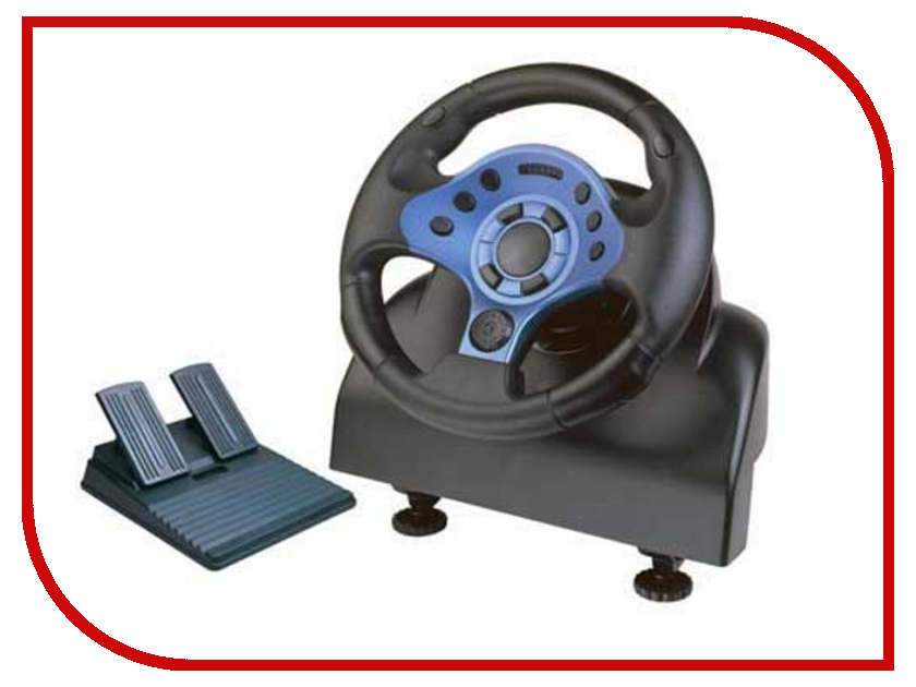 Руль DVTech WD184 Turbo Runner PS3/PS2/PC джойстик pc dvtech js19 gear синий