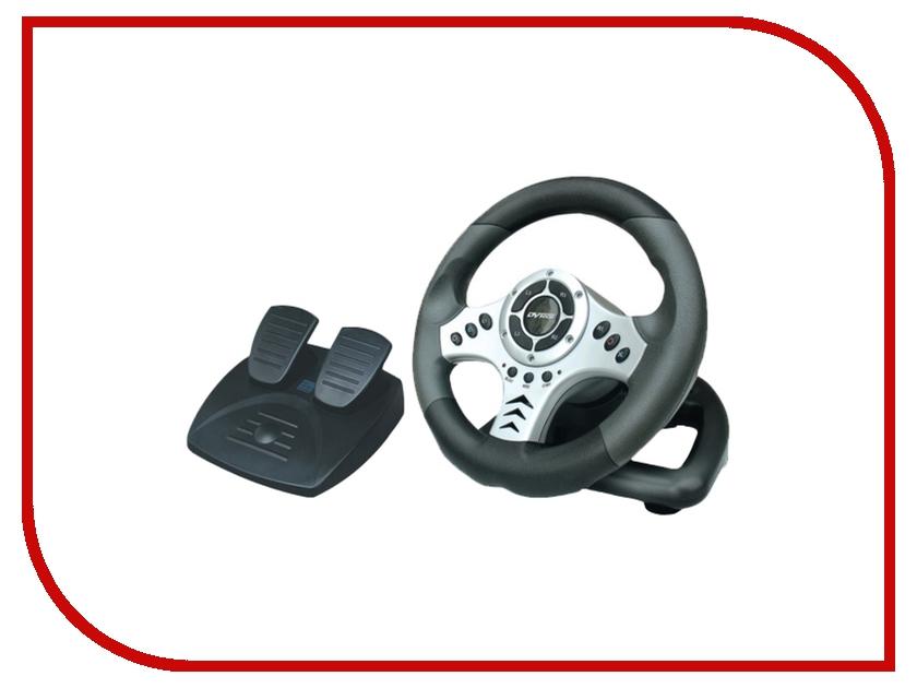 Руль DVTech WD202 Mad Rider PS3/PS2/PC джойстик pc dvtech js19 gear синий